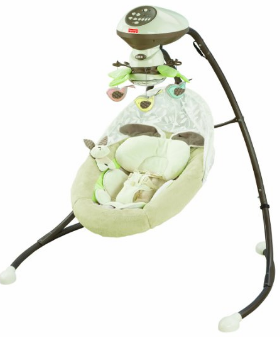 Fisher- Price My Sungabunny Cradle n Swing