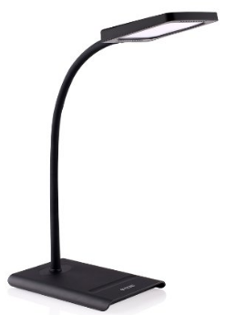 Halo 10W Dimmable LED Desk Lamp by TROND