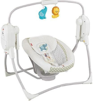 Fisher Price space Saver Cradle and Swing