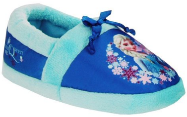 Disney girl blue Elsa Slippers