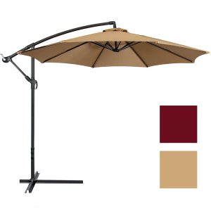 Best Choice Products Offset 10' Patio Umbrella Offset Patio Umbrellas