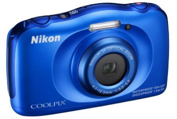 Nikon COOLPIX S33 Waterproof Digital Camera - waterproof digital cameras
