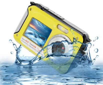 MARVIE HDV-801 Shockproof Underwater Digital Camera