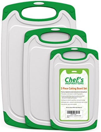Chef's INSPIRATIONS Polypropylene Plastic Cutting Board