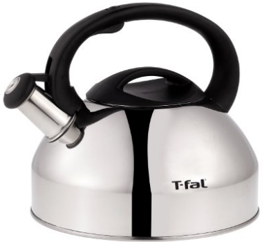 T-fal C76220 Specialty Stainless Steel Dishwasher Safe Whistling Coffee