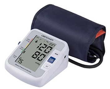 DBPOWER Upper Arm Blood Pressure Monitor with IHB and WHO indicator, Cuff 8.7 – 16.5 Inch