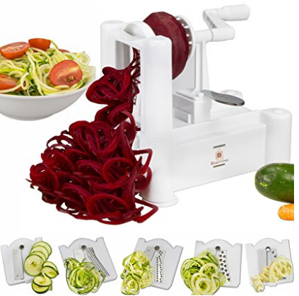 Strongest-and-Heaviest Duty Vegetable Spiral Slicer