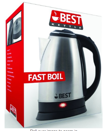 Best Electric Tea Cordless Kettle with Rapid Boil Technology