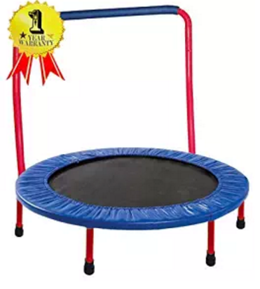 Portable & Foldable Trampoline - 36""