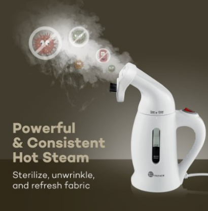 Garment Steamer, TaoTronics Handheld Portable Fabric Steamers For Clothes