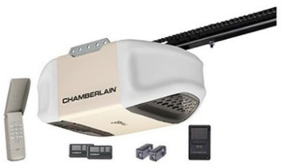 Chamberlain PD612EV 1/2 HP MyQ Enabled Chain Drive Garage Door