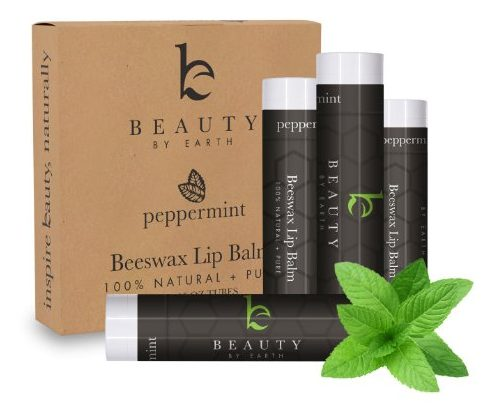 Beauty by Earth Peppermint Lip Balm