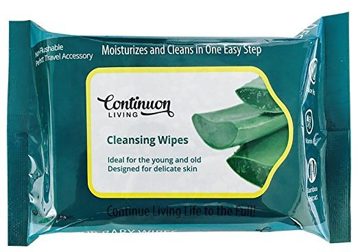 Continuon Living Bamboo Wet Wipes