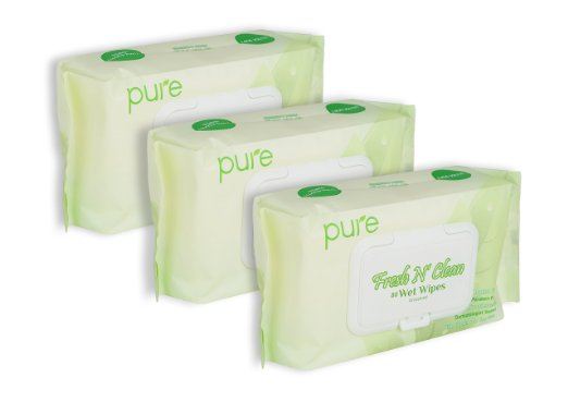 Fresh N Clean Pure Face, Hand and Baby Wet Wipes