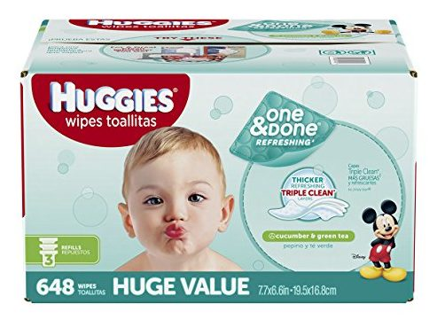 HUGGIES One & Done Refreshing Baby Wipes