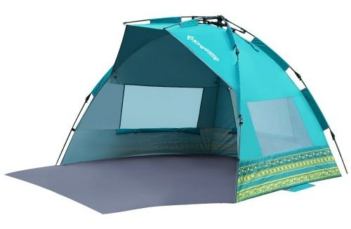 KingCamp Mississipi Fantasy Portable Quick Set up 3-4 Person Anti-UV Beach Tent