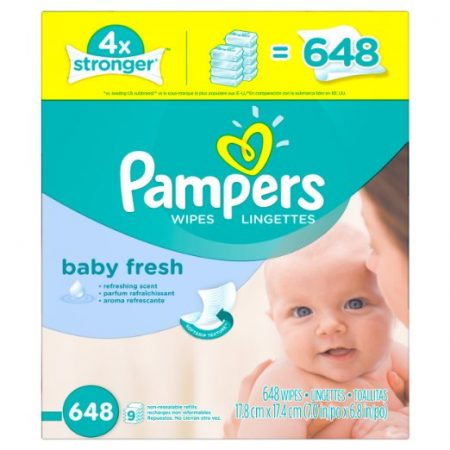 Pampers Fresh Baby Wipes