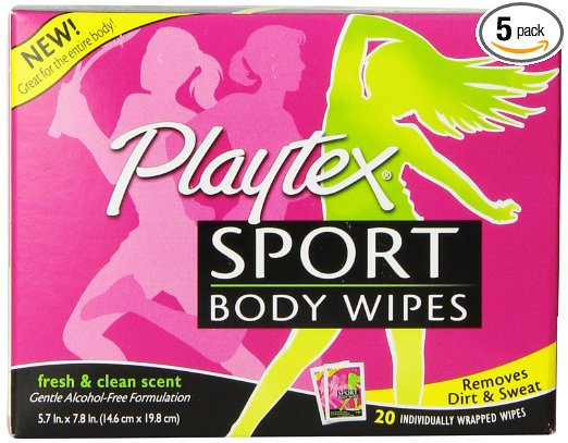 Playtex Sport Body Wipes
