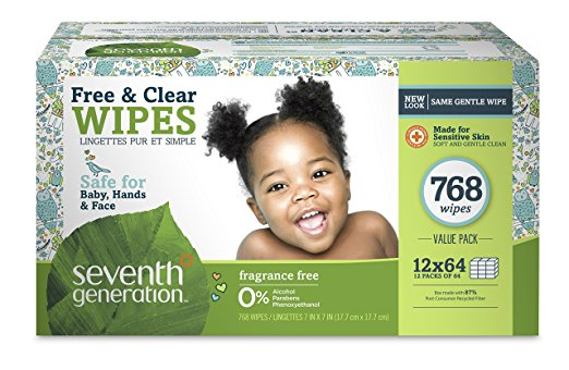 Seventh Generation Thick and Strong Baby Wipes