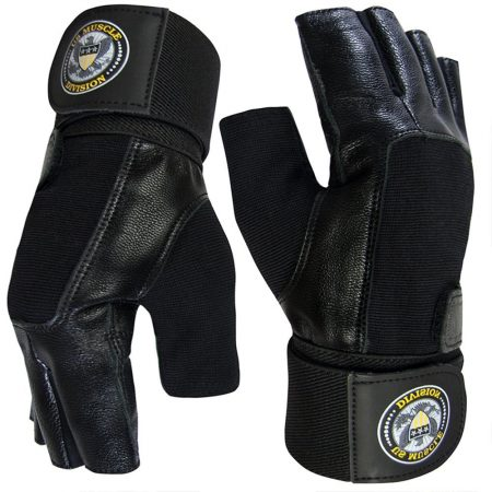 Soft Leather Gym Gloves