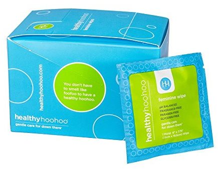 healthy hoohoo All Natural Gentle Femine Wipes