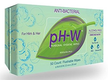 pH-W Personal Hygiene Wipes