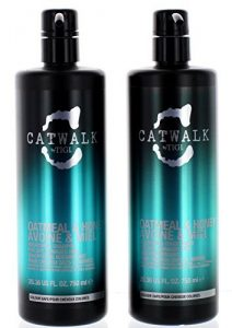 TIGI Catwalk Oatmeal and Honey Shampoo and Conditioner