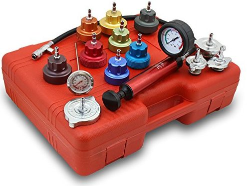 RADIATOR TESTER COOLING PRESSURE TESTER WITH NEW UPDATE