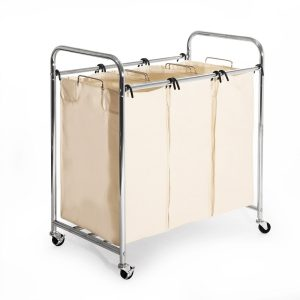 Seville Classics Heavy Duty Three Bag Sorter