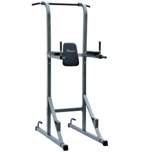 Soozier Fitness Power Tower W  Dip Station and Pull Up Bar