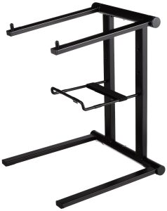 Rockville RLS2400 Lightweight Folding DJ Laptop Stand