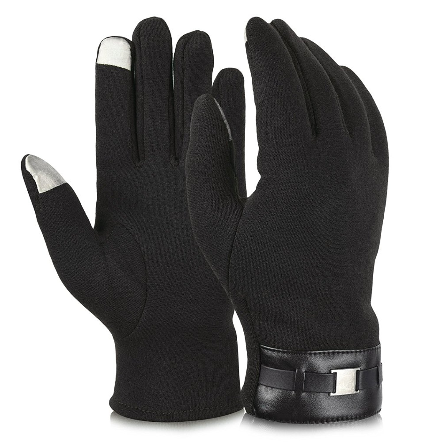 Thinsulate leather driving gloves - Thinsulate Leather Driving Gloves 36