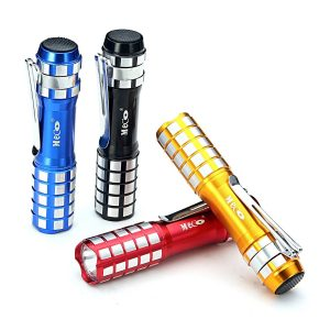 MECO Mini Flashlight with Pocket Clip