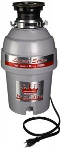 Waste King Legend Series 1 0 Horsepower Continuous Feed Garbage Disposal