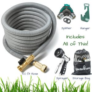 ALL NEW 2017 GrowGreen Expandable Garden Hose