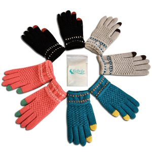 Gellwhu 4 Pack Winter Gloves