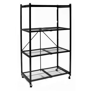 Collapsible storage racks Origami R5-01W General Purpose 4-Shelf