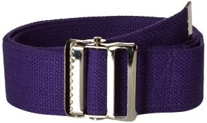 Prestige Medical Cotton Gait Belt with Metal Buckle