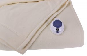 Soft Heat Luxury Micro Fleece Low Voltage Electric Heated Blanket