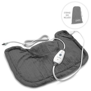PureRelief Neck and Shoulder Heating Pad with Fast Heating