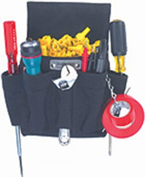 Boulder Bag 130 Mini Electrician Tool Pouch, Black