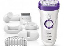 Braun Silk-épil 9 9-579 Wet and Dry Cordless Electric Hair Removal Epilator