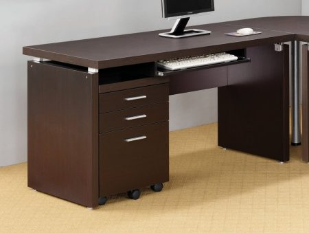 Coaster Home Furnishings 800891 Contemporary Computer Desk
