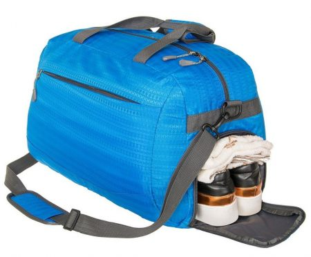 Coreal Duffle Bag Sports Gym Travel Luggage Including Shoes Compartment Women & Men