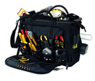Custom LeatherCraft 1539 18 Multi-Compartment Tool Carrier