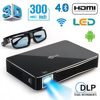 DLP HD 1080p Projector 3D Home Theater Projector