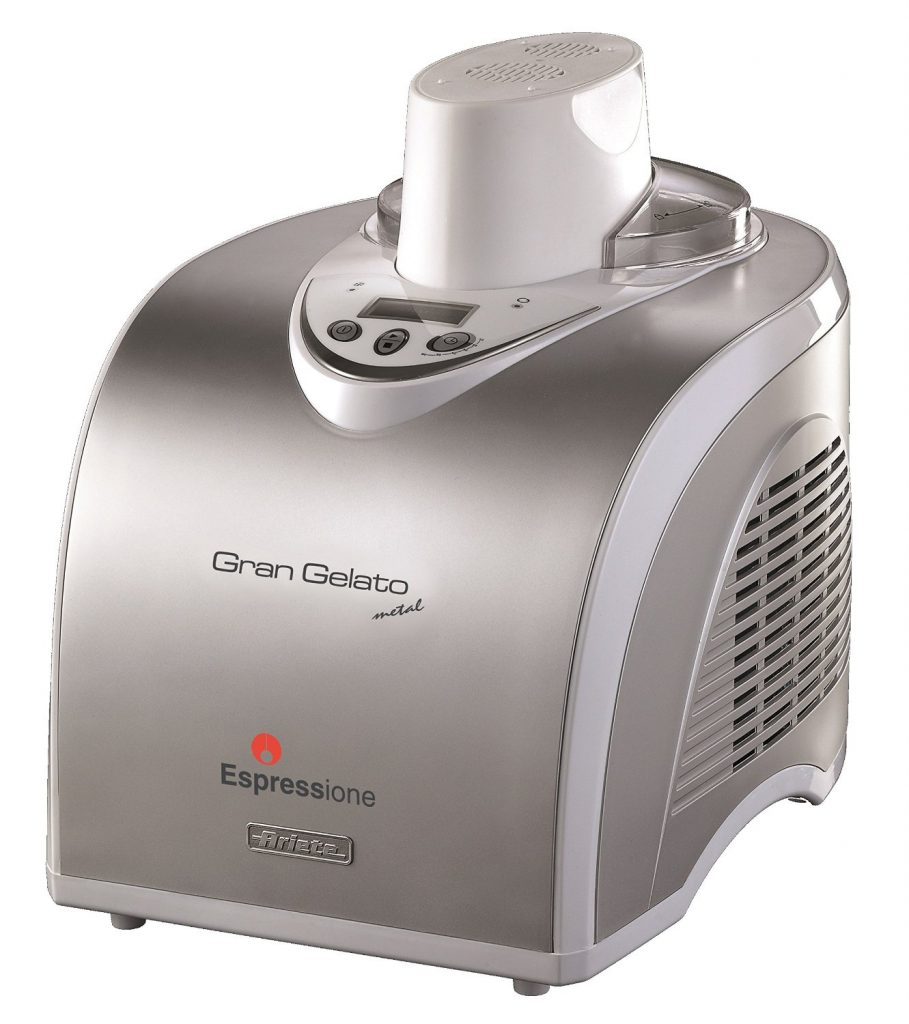 Espressione-DeLonghi of Italy Gran Gelato Metal Ice Cream Maker