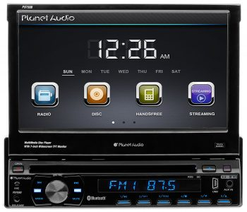 Planet Audio P9759B Single-Din