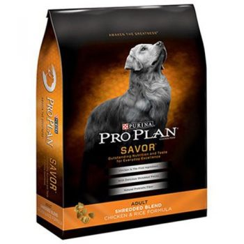 Purina Pro Plan Savor Shredded Blend Chicken & Rice Formula Dry Dog Food