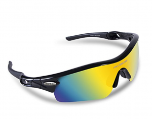 b2bd07fbe24 RICBOS 805 POLARIZED Sports Sunglasses with 5 Set Interchangeable Lenses  for Cycling.